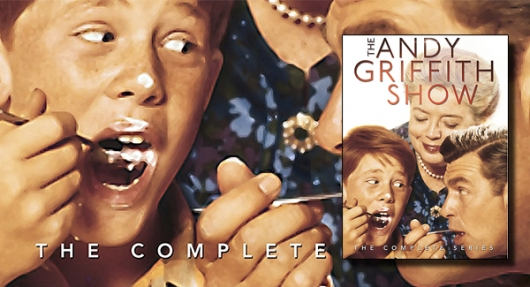 The Andy Griffith Show The Complete Series DVD banner