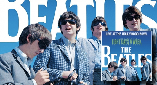 The Beatles Live at the Hollywood Bowl banner