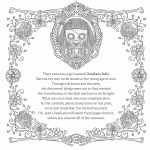 The Beauty of Horror coloring book preview 3