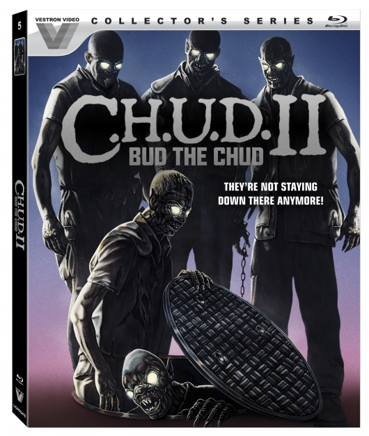 C.H.U.D II: Bud The Chud (Vestron Video Collector's Series) Blu-ray Cover Art