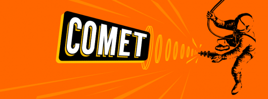 Comet TV orange logo