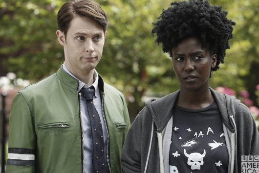 Dirk Gently Dirk and Farah