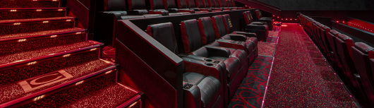 Dolby Cinema AMC Theatre reclining stadium seats