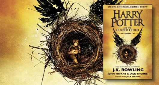 Harry Potter and the Cursed Child Book banner