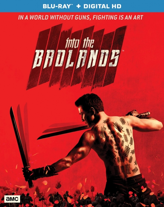 Into The Badlands s1 Blu-ray cover