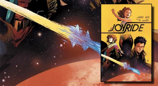 Joyride Vol 1 graphic novel banner