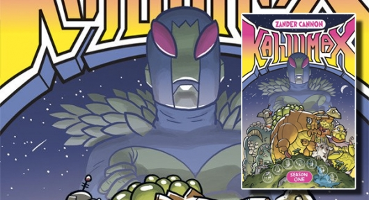 Kaijumax Season 1 graphic novel banner