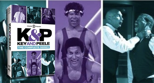Key and Peele The Complete Series DVD banner