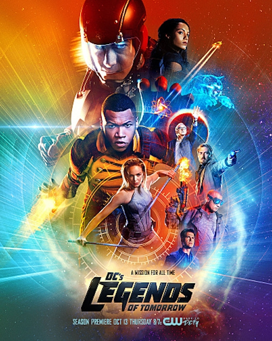 DC's Legends of Tomorrow Season 2 Poster