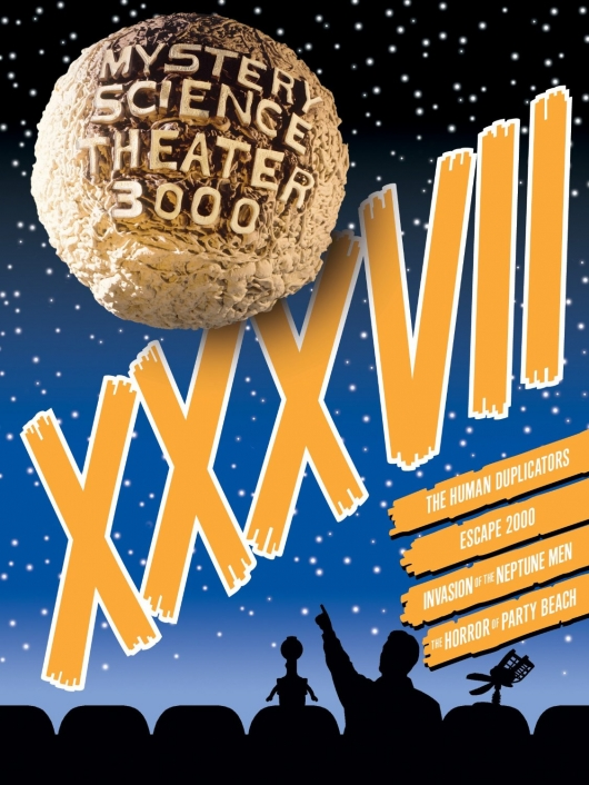 DVD Review: MST3K: Volume XXXVII Cover Art