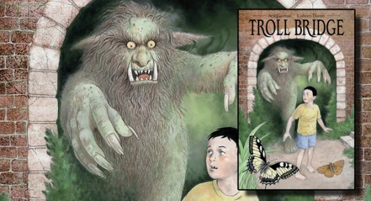Neil Gaiman's Troll Bridge banner