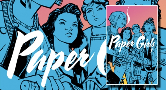Paper Girls: Volume 1 graphic novels banner