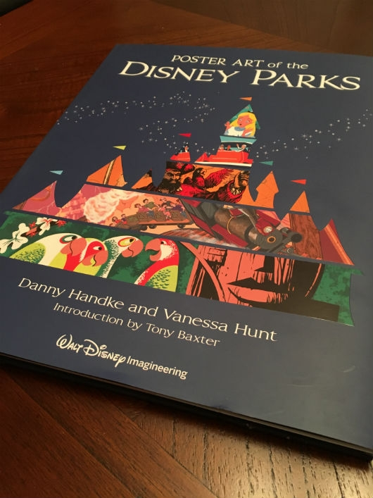 Poster Art Of The Disney Parks Book Cover