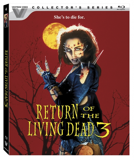 Return Of The Living Dead 3 (Vestron Video Collector's Series) Blu-ray Cover Art