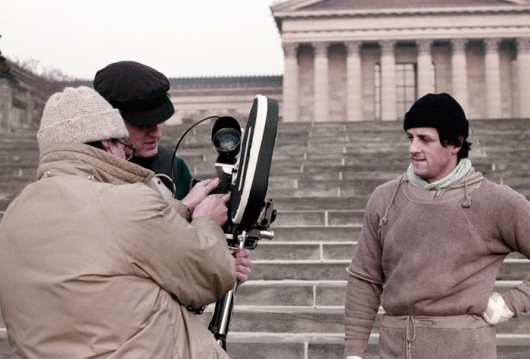 Rocky Filming on Steps