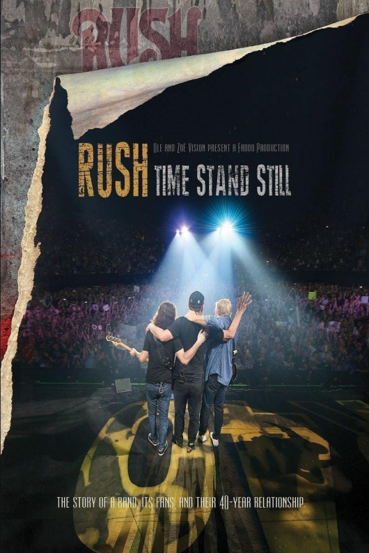 Rush Time Stand Still box art