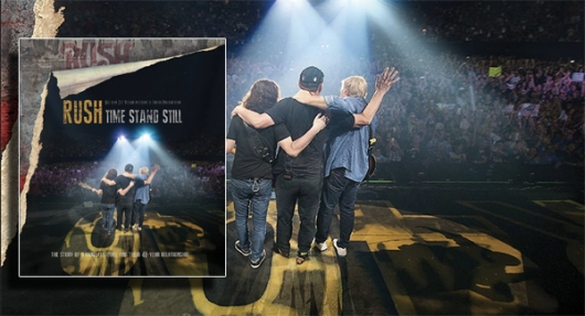 Rush Time Stand Still Blu-ray banner