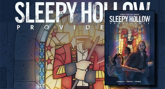 Sleepy Hollow: Providence graphic novel banner