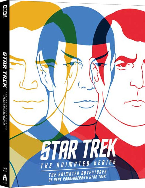 Star Trek: The Animated Series Blu-ray Edition cover