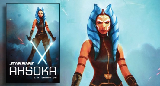 Star Wars: Ahsoka book banner