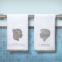 Star Wars Han and Leia Hand Towels