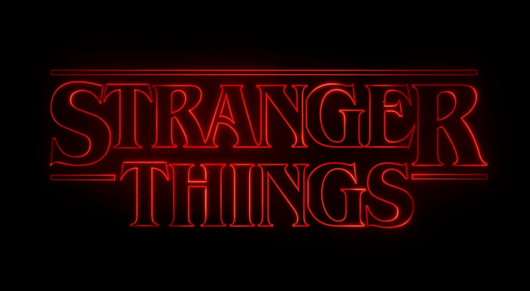 Stranger Things Logo Netflix