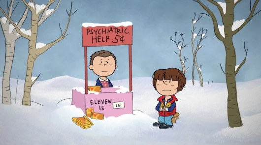 Stranger Things/Charlie Brown Christmas Mash-Up