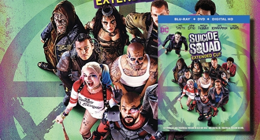 Suicide Squad Extended Cut blu-ray banner
