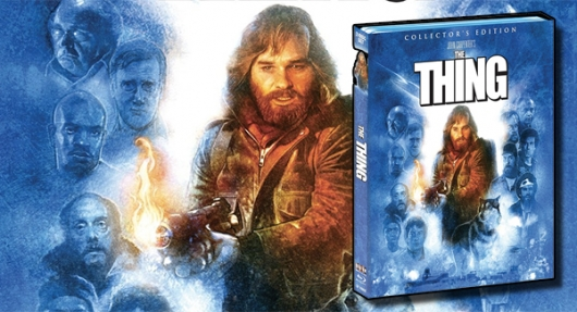 The Thing Collector's Edition Blu-ray banner