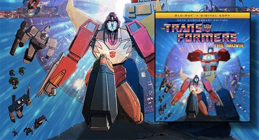 Transformers: The Movie - 30th Anniversary Edition Blu-ray banner