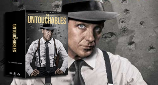 The Untouchables The Complete Series DVD banner