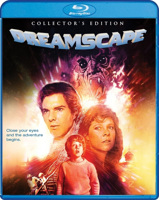Blu-ray Review: Dreamscape (Collector's Edition) Cover Art