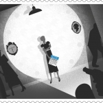 UK Royal Mail Agatha Christie stamp