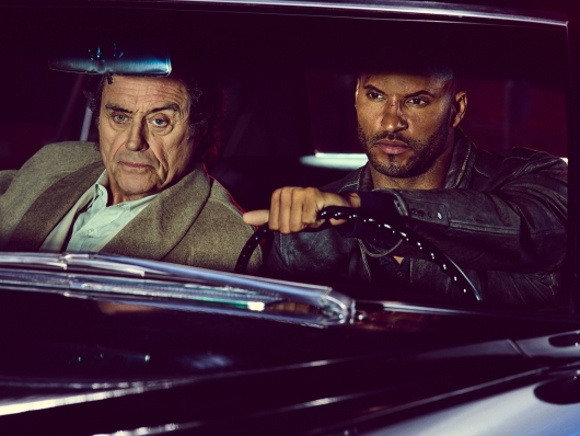 American Gods Season 1 Wednesday and Shadow