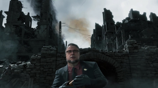 Guillermo del Toro in Hideo Kojima's Death Stranding