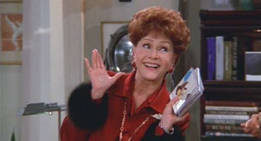 Debbie Reynolds as Bobbi Adler on Will and Grace