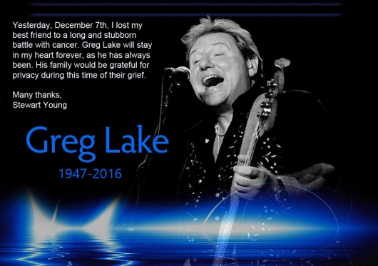 Greg Lake obit message
