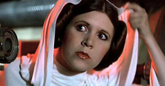 Star Wars: Carrie Fisher as Princess Leia