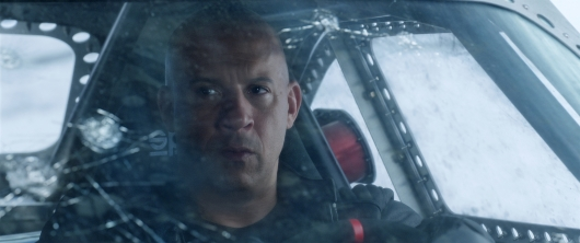 The Fate of the Furious starring Vin Diesel Fast and Furious