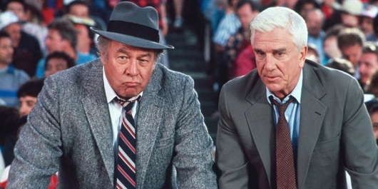 george kennedy and leslie nielsen