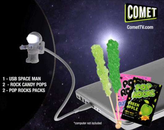 Comet TV January 2017 Spaceman Contest
