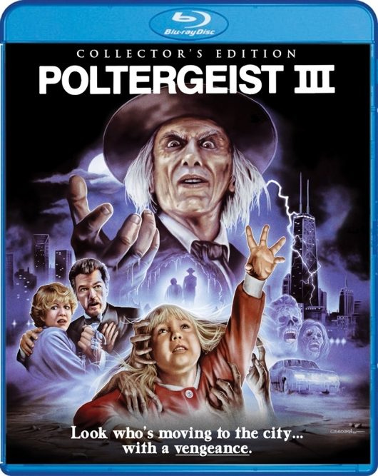 Blu-ray Review: Poltergeist III Cover Art