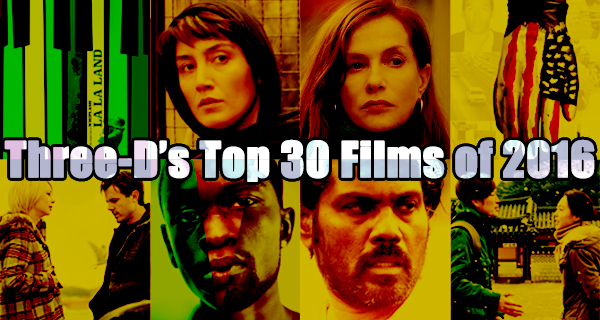 Top 30 Movies Of 2016