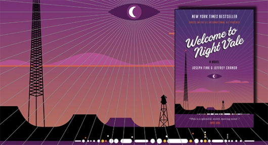 Welcome to Night Vale book banner
