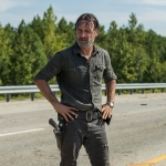 Andrew Lincoln as Rick Grimes - The Walking Dead, Season 7, Episode 9