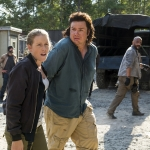 Josh McDermitt as Dr. Eugene Porter, Lindsley Register as Laura - The Walking Dead, Season 7, Episode 11