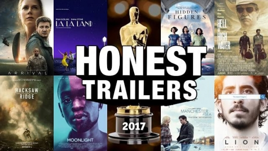 Honest Trailers Oscars 2017