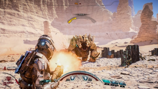 Mass Effect: Andromeda Combat Gameplay -- Weapons and Skills