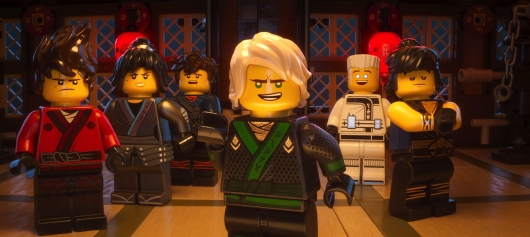 The LEGO Ninjago Movie trailer header