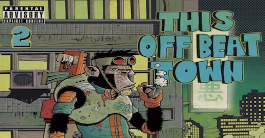 This Off Beat Town Issue 2 Jake Smith Cover